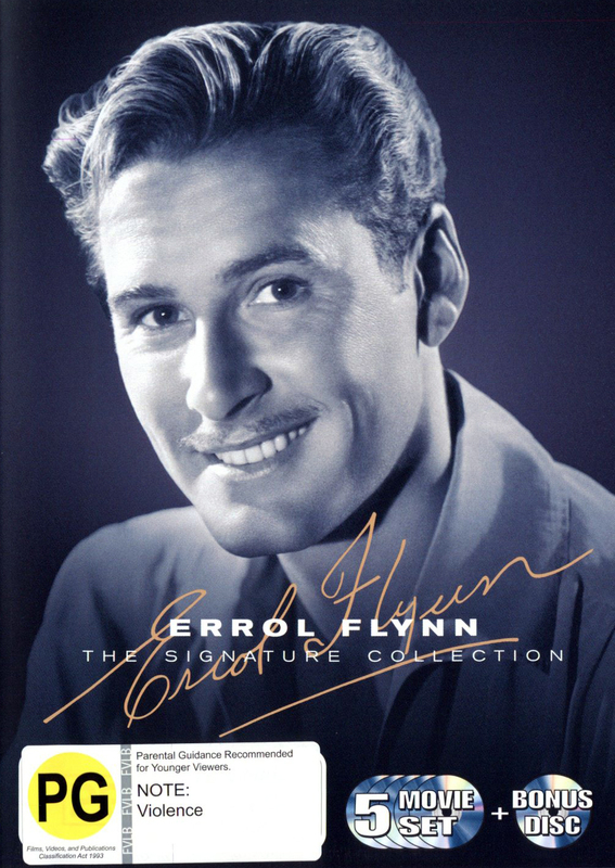 Errol Flynn: The Signature Collection on DVD