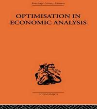 Optimisation in Economic Analysis by Gordon Mills image