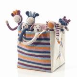 Pebble Organic Crochet Toy Box