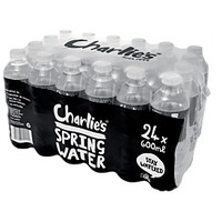Charlie's Spring Water 600ml 24pk
