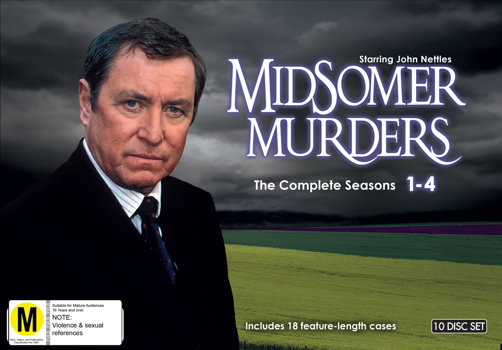 Midsomer Murders Collection: Season 1-4 on DVD image