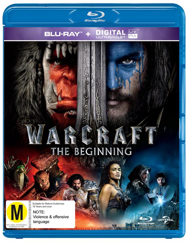 Warcraft: The Beginning on Blu-ray