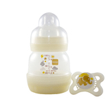 MAM Anticolic Feeding Bottle 130ml - Single (White)