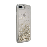 3SIXT PureGlitz Case for iPhone 8+/7+/6S+/6+ - Gold/Silver