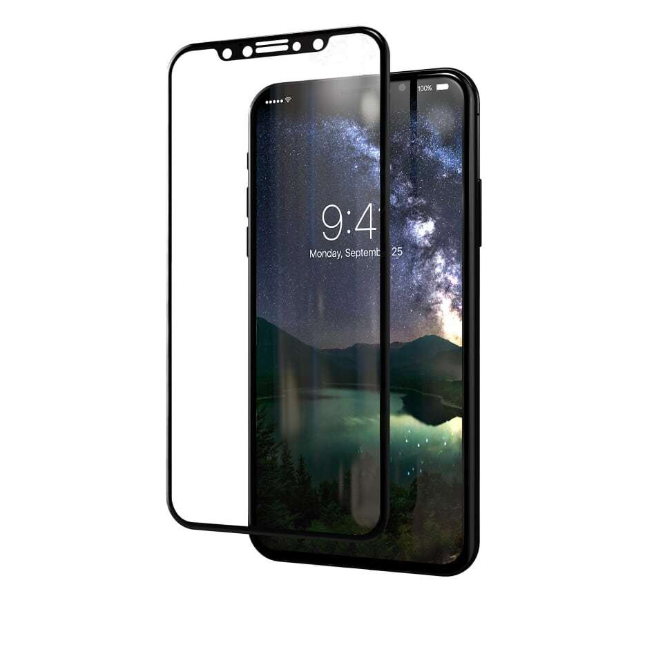 Kase Edge Night Screen Protector - iPhone X image