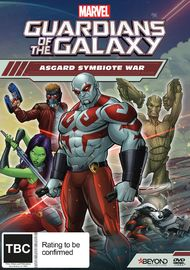 Guardians of the Galaxy: Asgard Symbiote War on DVD