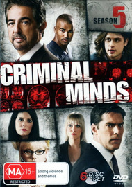Criminal Minds - Season 5 (6 Disc Set) on DVD