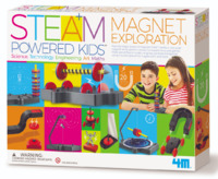 4M STEAM: Powered Kids - Magnet Exploration Kit