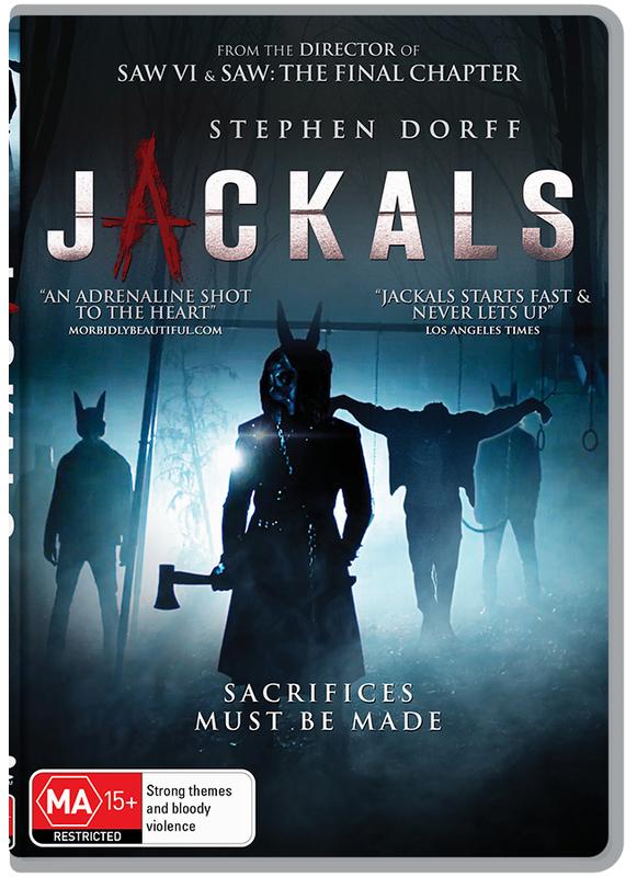 Jackals on DVD