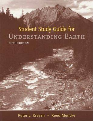 Understanding Earth: Student Study Guide by John Grotzinger image