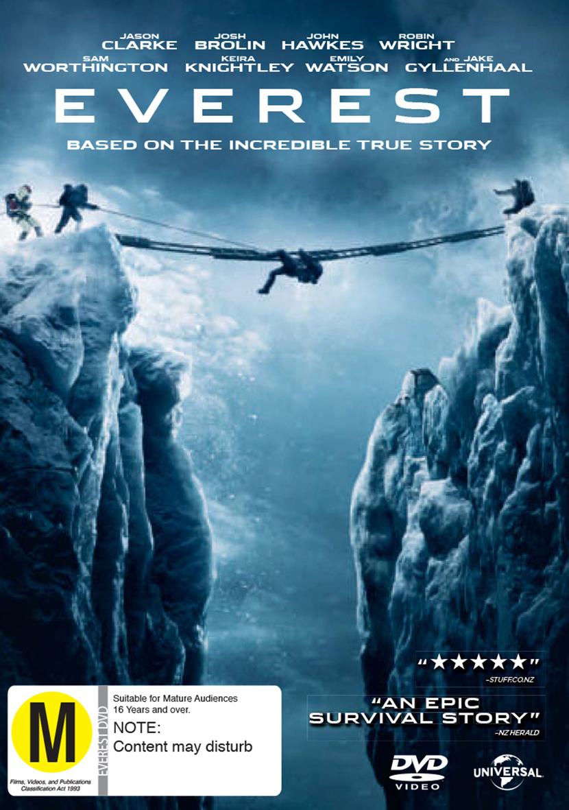 Everest on DVD image