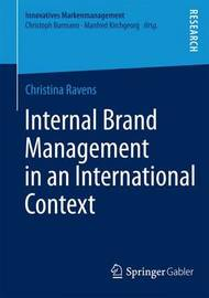 Internal Brand Management in an International Context by Christina Ravens