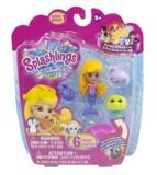 Splashlings: Mermaid 6-Pack (Blond/Purple)