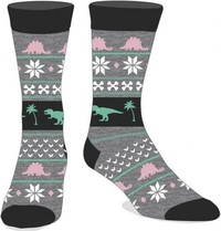 Dinosaur Holiday - Crew Socks