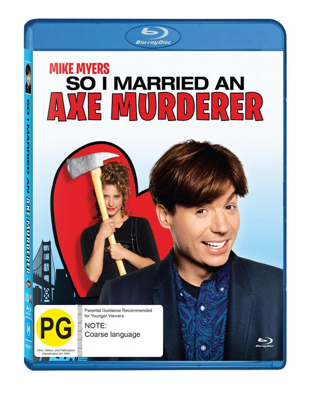 So I Married An Axe Murderer on Blu-ray