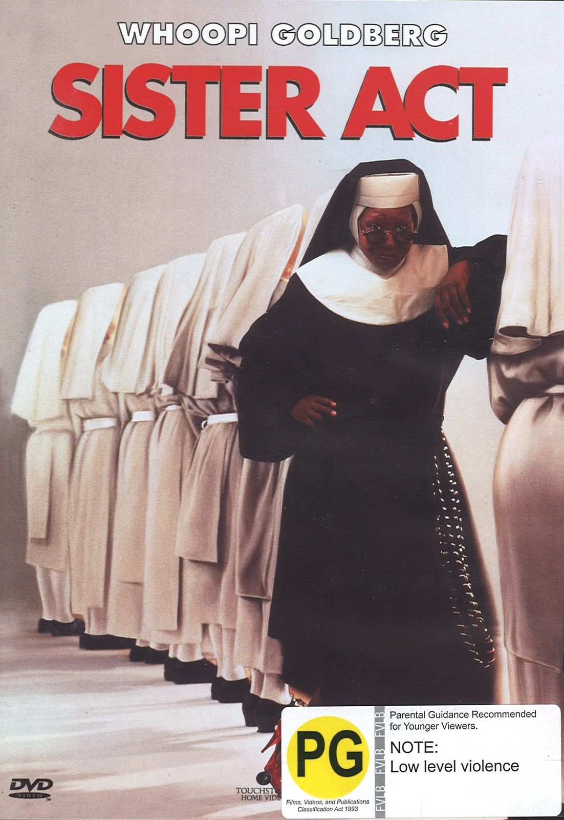 Sister Act on DVD image