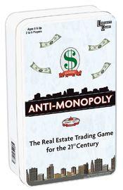 Anti-Monopoly - Tin Travel Game