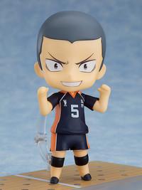 Haikyu!!: Nendoroid Ryunosuke Tanaka (Deluxe Edition) - Articulated Figure Set