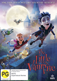The Little Vampire on DVD image