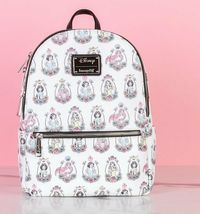 Loungefly: Disney - Princess Portraits Mini Backpack