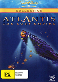 Atlantis on DVD image