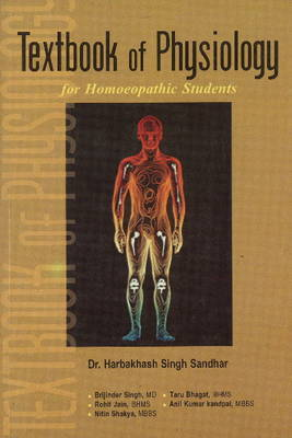 Textbook of Physiology for Homoeopathic Students by H.S. Sandhar image