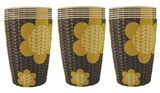 Set of 6 Bamboo Cups - Stem Bloom