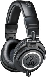 Audio-Technica ATH-M50X Studio Monitors - Black