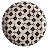 Christopher Vine: Marigold Side Plate - White Flower (18.5cm)