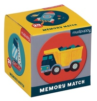 Mudpuppy: Mini Memory Game - Transportation