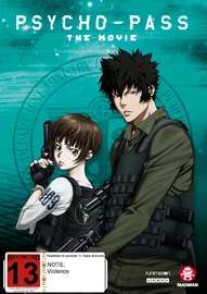 Psycho-Pass The Movie DVD