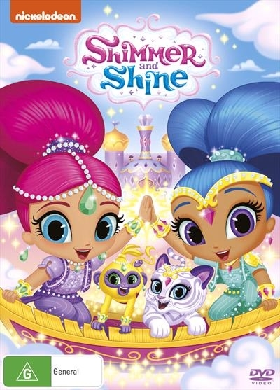 Shimmer and shine dvd in stock buy now at mighty for Shimmer and shine craft ideas