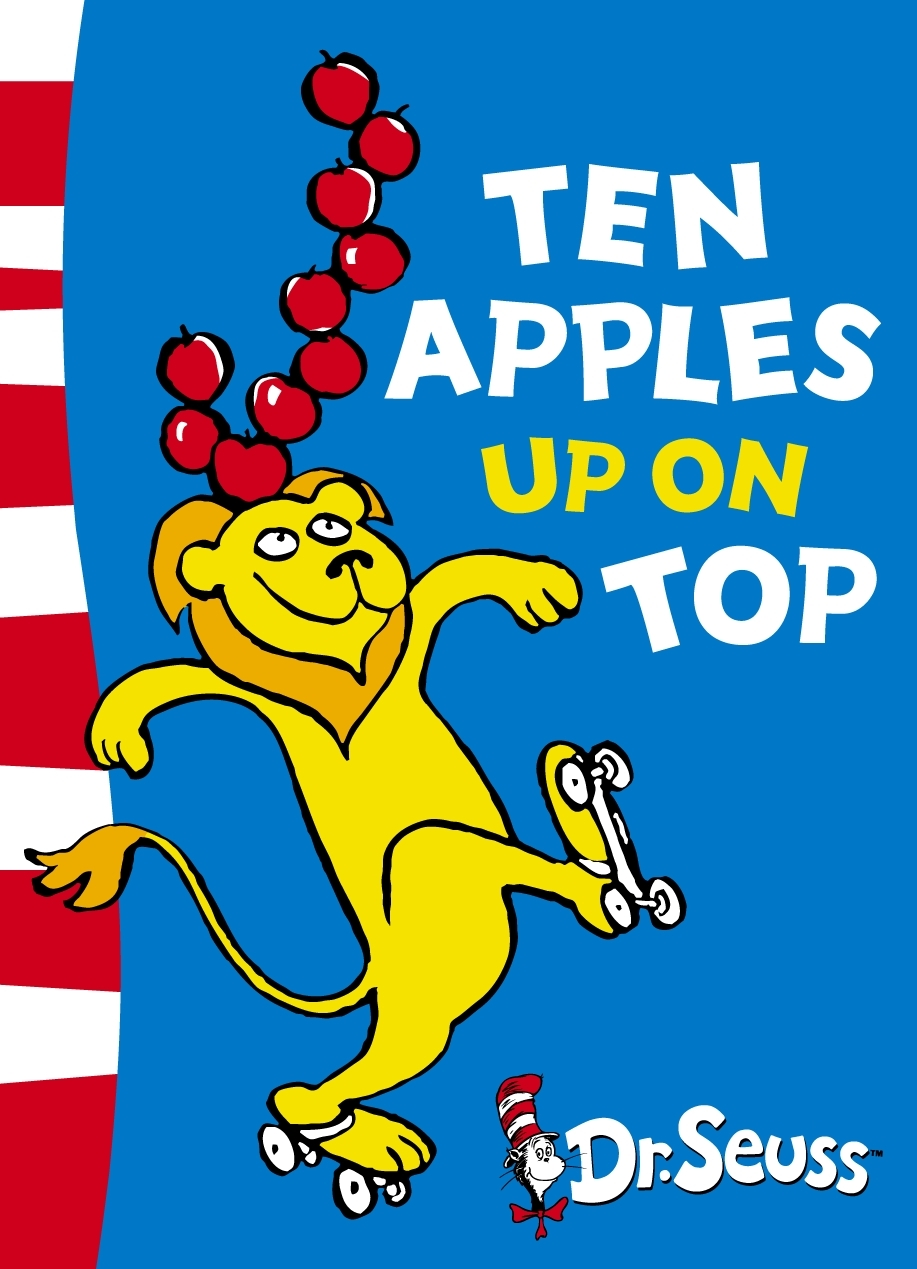 Ten Apples Up on Top: Green Back Book by Seuss image