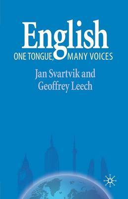 English - One Tongue, Many Voices by Jan Svartvik image
