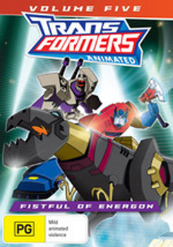 Transformers Animated: Volume 5 - A Fistful of Energon DVD image