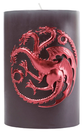 Game Of Thrones: Sculpted Insignia Candle - House Targaryen