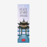 Peace of Mind 2019 Bookmark Calendar