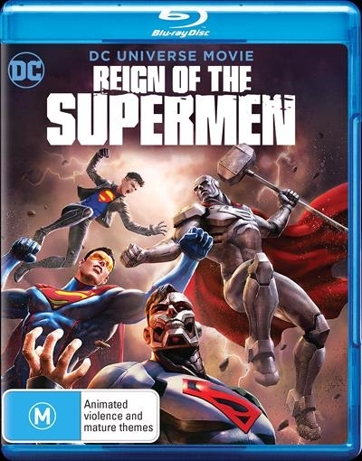 Reign of the Supermen on Blu-ray image