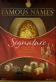 Elizabeth Shaw Famous Names Easter Egg (265g)