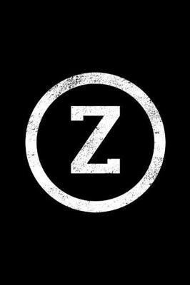 Z by Z Monogram Journal
