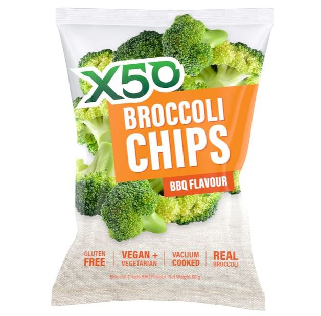 X50 Broccoli Chips - BBQ (40g)