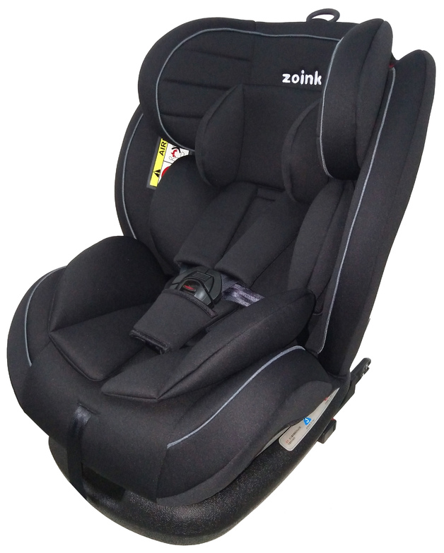 Zoink Baby Car Seat with ISOFIX - Charcoal