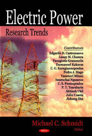 Electric Power Research Trends by Michael C. Schmidt image