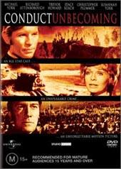 Conduct Unbecoming on DVD