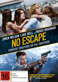 No Escape (Aka The Coup) on DVD