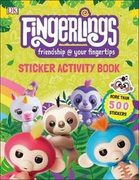 Fingerlings Sticker Activity Book by DK image