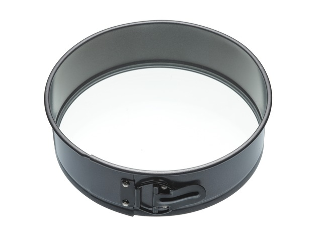 MasterClass: Non-Stick Springform Round Cake Pan with Glass Base (25cm)