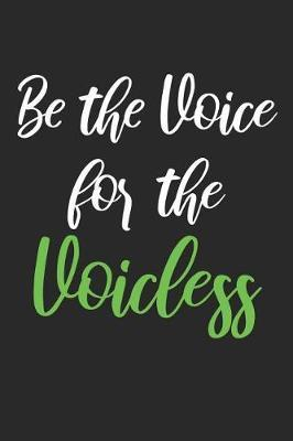 Be The Voice For The Voiceless image