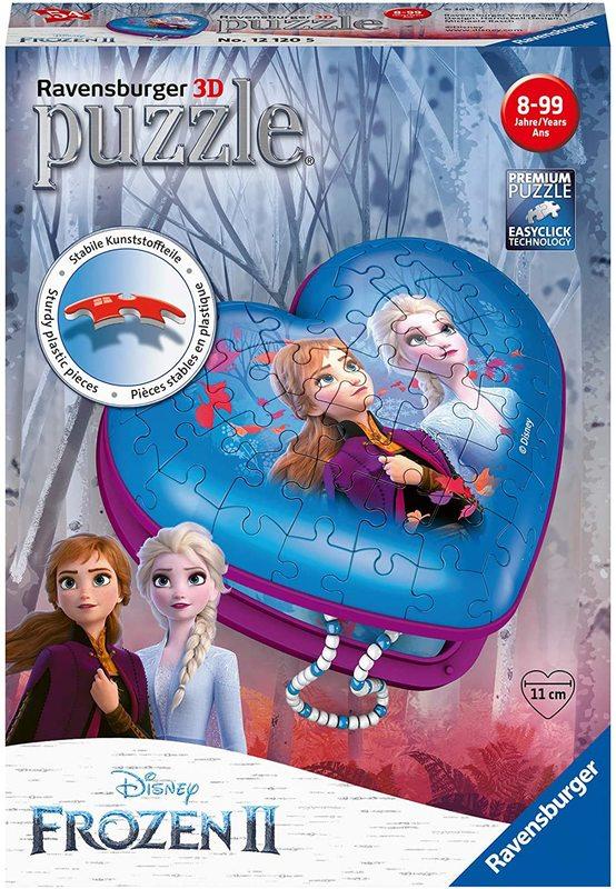 Ravensburger: Disney 3D Puzzle Heart - Frozen 2