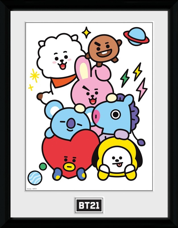 BT21: Characters Stack - Collector Print (41x30.5cm)